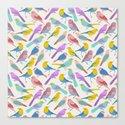 Dazzling Colored Bird Pattern by boutiquebijou