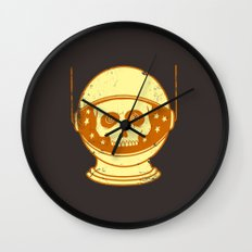 Intergalactic Cotton Buds Wall Clock