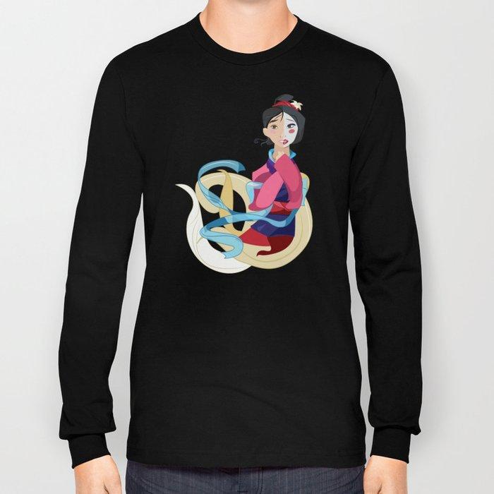 Mulan: Reflection Long Sleeve T-shirt