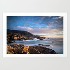 California Coast 3 Art Print
