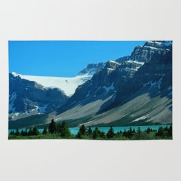 On the Road through The Rockies Rug
