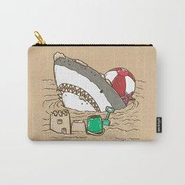 Sandy Beach Shark Carry-All Pouch