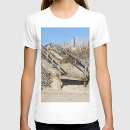 Old Wooden Board Walk T-shirt