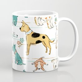 Dogs Dogs Dogs Coffee Mug