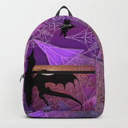 Snowflakes and Dragons Backpack