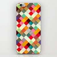 digital iPhone & iPod Skins featuring Pass this On by Danny Ivan