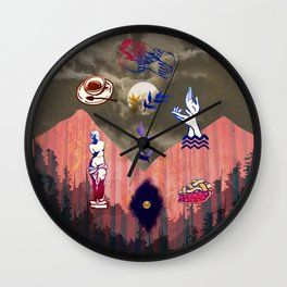 Tribute to Twin Peaks Wall Clock