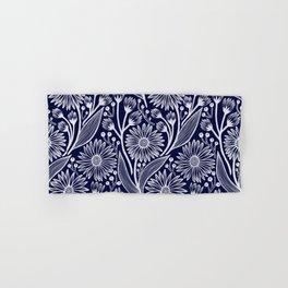 Indigo Coneflowers Hand & Bath Towel