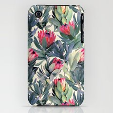 Painted Protea Pattern iPhone (3g, 3gs) Slim Case