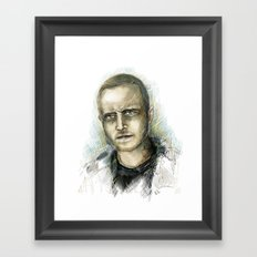Jesse Pinkman - Breaking Bad Framed Art Print