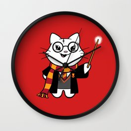 Wizardkitty Griffin House! Wall Clock