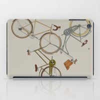 bicycles iPad Cases featuring bicycles by Golden Boy