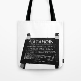 To Katahdin Tote Bag