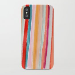 Stripes I iPhone Case