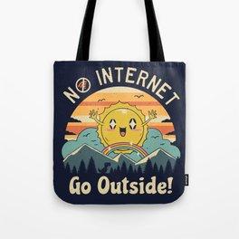 No Internet Vibes! Tote Bag