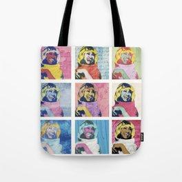 Celia Cruz Pop Art - The Immortal Queen of Salsa - Magical Realism Tote Bag