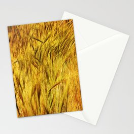 Wild Grass Burnished By The Sun Stationery Cards