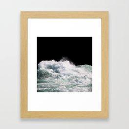 Water Photography   Wild Rapids   Waves   Ocean   Sea Minimalism Framed Art Print