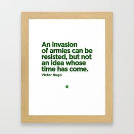 Irresistible Idea Framed Art Print
