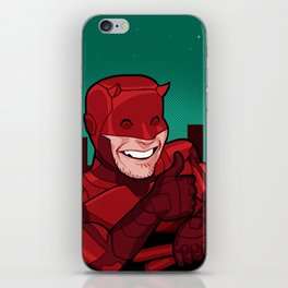 Your Friendly Neighborhood Vigilante iPhone Skin
