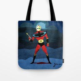 Actarus - Goldrake: He is back Tote Bag
