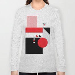 Old School Graphic Long Sleeve T-shirt
