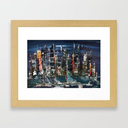 Lake Wilder Framed Art Print