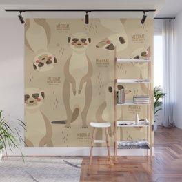 Meerkat, African Wildlife Wall Mural