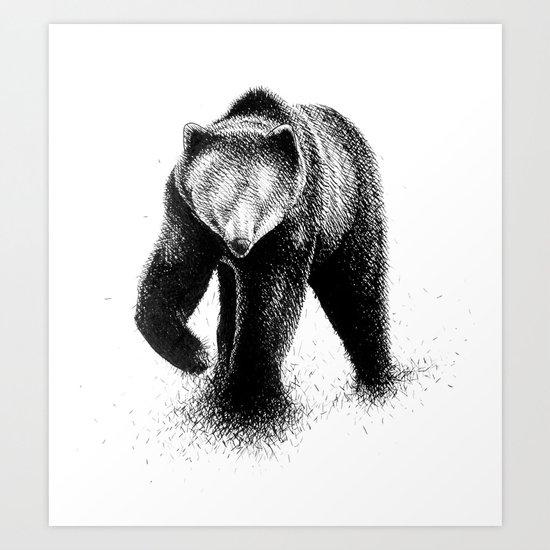B-Bear Art Print