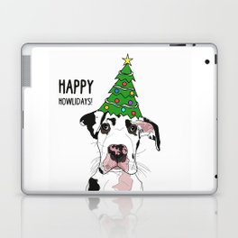 Happy Howlidays Great Dane Laptop & iPad Skin