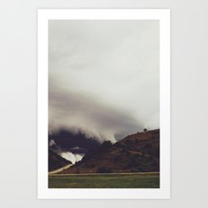 Beneath The Cloud Art Print
