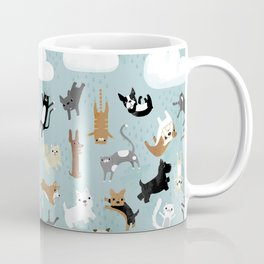 Raining Cats & Dogs Coffee Mug
