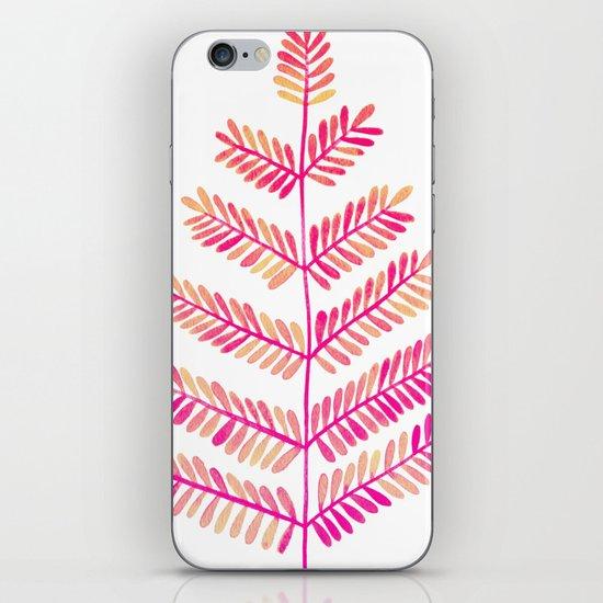 Leaflets – Pink Ombré Palette iPhone Skin