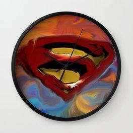 Super man Wall Clock