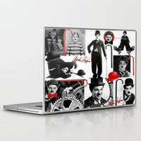 charlie Laptop & iPad Skins featuring CHARLIE by BLUE VELVET DESIGNS