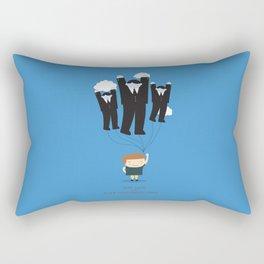 Keep calm and blow your enemies away Rectangular Pillow
