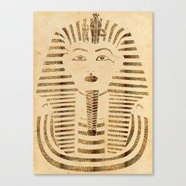 King Tut Version 2 Canvas Print
