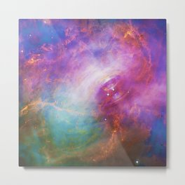 Crab Nebula Metal Print