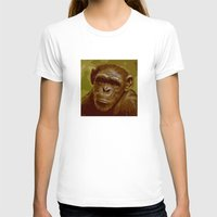 camo T-shirts featuring camo monkey! by noblackcolor
