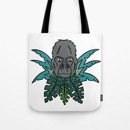 Gorilla in the Jungle (Harambe?) Tote Bag