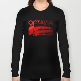 Skoda Octavia - classic red - Long Sleeve T-shirt
