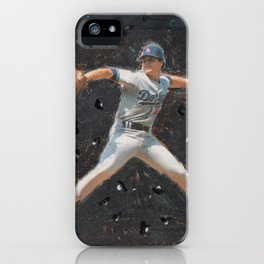 Rick Honeycutt in Space, Dodgers iPhone Case