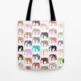 Floral Herd Tote Bag