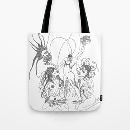 Chinnamasta, Jaya and Vijaya Tote Bag