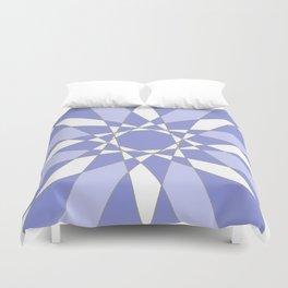 Blue Crystal Duvet Cover