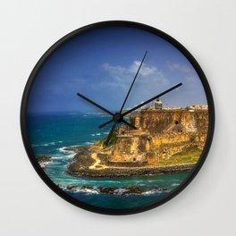Fortress Wall Clock