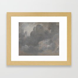 John Constable 1776–1837   Cloud Study Framed Art Print