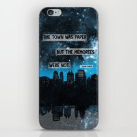john green iPhone & iPod Skins featuring Paper Towns John Green Quote by denise