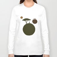 africa Long Sleeve T-shirts featuring AFRICA by J ō v
