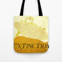 resident evil Tote Bags featuring Resident Evil Extinction by JackEmmett